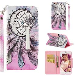Angel Monternet Big Metal Buckle PU Leather Wallet Phone Case for iPhone 6s Plus / 6 Plus 6P(5.5 inch)