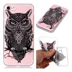 Staring Owl Super Clear Soft TPU Back Cover for iPhone 8 / 7 (4.7 inch)
