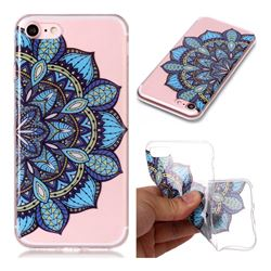 Peacock flower Super Clear Soft TPU Back Cover for iPhone 8 / 7 (4.7 inch)