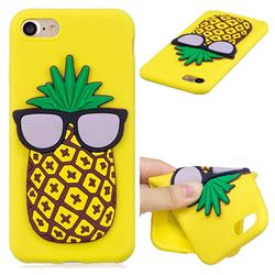 Pineapple Soft 3D Silicone Case for iPhone 8 / 7 (4.7 inch)