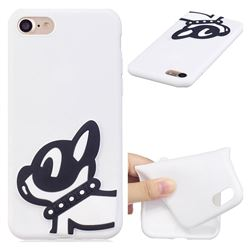 Cute Dog Soft 3D Silicone Case for iPhone 8 / 7 (4.7 inch)