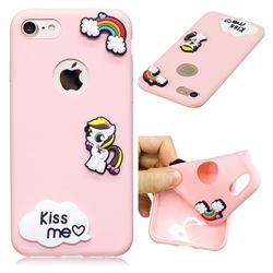 Kiss me Pony Soft 3D Silicone Case for iPhone 8 / 7 (4.7 inch)