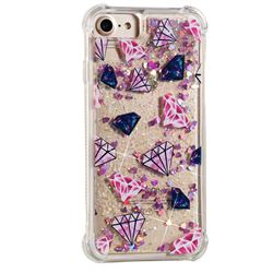 Diamond Dynamic Liquid Glitter Sand Quicksand Star TPU Case for iPhone 8 / 7 (4.7 inch)