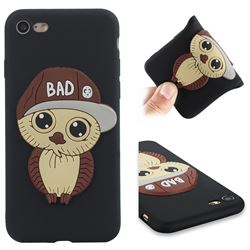 Bad Boy Owl Soft 3D Silicone Case for iPhone 8 / 7 (4.7 inch) - Black