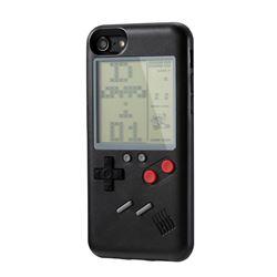 WANLE VC061 Classic Playable Tetris Game Boy Silicone Case Black