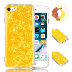 Yellow Conch Pattern Squeeze Jelly Soft TPU Back Cover