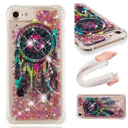 Seal Wind Chimes Dynamic Liquid Glitter Sand Quicksand Star TPU Case for iPhone 8 / 7 (4.7 inch)