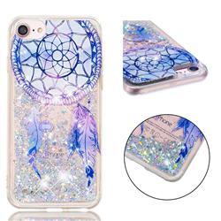 Fantasy Wind Chimes Dynamic Liquid Glitter Quicksand Soft TPU Case for iPhone 8 / 7 (4.7 inch)