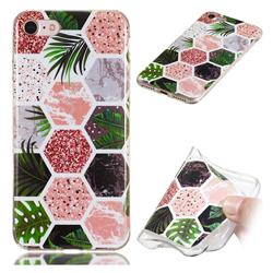 Rainforest Soft TPU Marble Pattern Phone Case for iPhone 8 / 7 (4.7 inch)