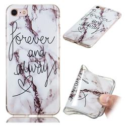 Forever Soft TPU Marble Pattern Phone Case for iPhone 8 / 7 (4.7 inch)