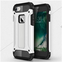 King Kong Armor Premium Shockproof Dual Layer Rugged Hard Cover for iPhone 8 / 7 (4.7 inch) - White