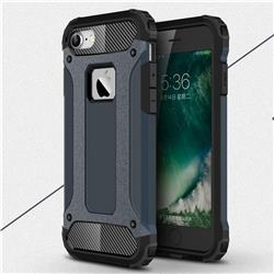 King Kong Armor Premium Shockproof Dual Layer Rugged Hard Cover for iPhone 8 / 7 (4.7 inch) - Navy