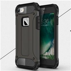 King Kong Armor Premium Shockproof Dual Layer Rugged Hard Cover for iPhone 8 / 7 (4.7 inch) - Bronze