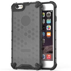 Honeycomb TPU + PC Hybrid Armor Shockproof Case Cover for iPhone 8 / 7 (4.7 inch) - Gray