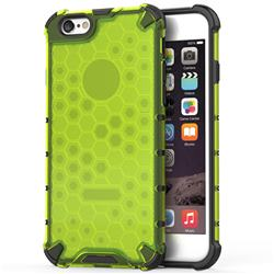 Honeycomb TPU + PC Hybrid Armor Shockproof Case Cover for iPhone 8 / 7 (4.7 inch) - Green