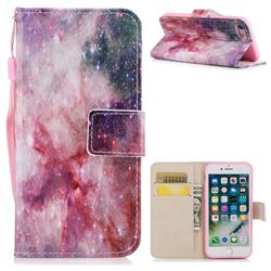 Cosmic Stars PU Leather Wallet Case for iPhone 8 / 7 (4.7 inch)