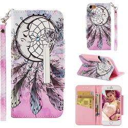 Angel Monternet Big Metal Buckle PU Leather Wallet Phone Case for iPhone 8 / 7 (4.7 inch)