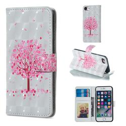 Sakura Flower Tree 3D Painted Leather Phone Wallet Case for iPhone 8 / 7 (4.7 inch)