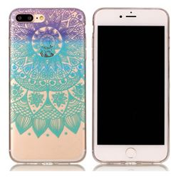 Mandala Wind Chimes Super Clear Soft TPU Back Cover for iPhone 8 Plus / 7 Plus 8P 7P(5.5 inch)