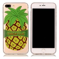 Big Pineapple Super Clear Soft TPU Back Cover for iPhone 8 Plus / 7 Plus 8P 7P(5.5 inch)