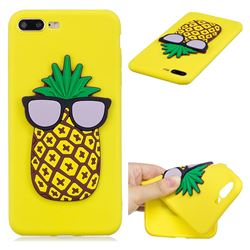 Pineapple Soft 3D Silicone Case for iPhone 8 Plus / 7 Plus 7P(5.5 inch)