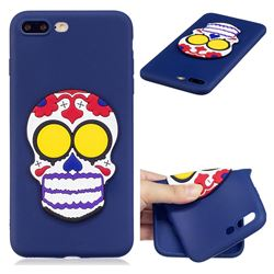 Ghosts Soft 3D Silicone Case for iPhone 8 Plus / 7 Plus 7P(5.5 inch)