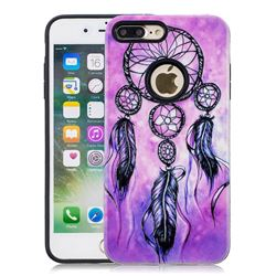 Starry Wind Chimes Pattern 2 in 1 PC + TPU Glossy Embossed Back Cover for iPhone 8 Plus / 7 Plus 7P(5.5 inch)