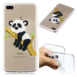 Tree Panda Super Clear Soft TPU Back Cover for iPhone 8 Plus / 7 Plus 7P(5.5 inch)