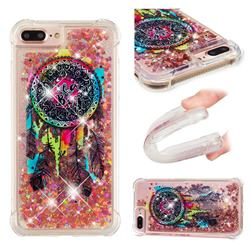 Seal Wind Chimes Dynamic Liquid Glitter Sand Quicksand Star TPU Case for iPhone 8 Plus / 7 Plus 7P(5.5 inch)