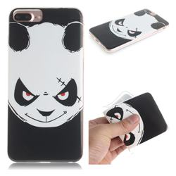 Angry Bear IMD Soft TPU Cell Phone Back Cover for iPhone 8 Plus / 7 Plus 7P(5.5 inch)