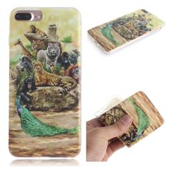 Beast Zoo IMD Soft TPU Cell Phone Back Cover for iPhone 8 Plus / 7 Plus 7P(5.5 inch)