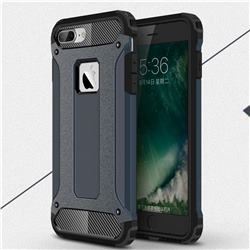 King Kong Armor Premium Shockproof Dual Layer Rugged Hard Cover for iPhone 8 Plus / 7 Plus 7P(5.5 inch) - Navy