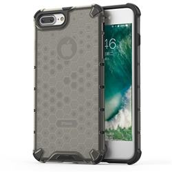 Honeycomb TPU + PC Hybrid Armor Shockproof Case Cover for iPhone 8 Plus / 7 Plus 7P(5.5 inch) - Gray