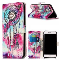 Butterfly Chimes PU Leather Wallet Case for iPhone 8 Plus / 7 Plus 8P 7P(5.5 inch)