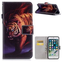 Mighty Tiger PU Leather Wallet Case for iPhone 8 Plus / 7 Plus 7P(5.5 inch)