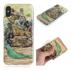Beast Zoo IMD Soft TPU Cell Phone Back Cover for iPhone XS / iPhone X(5.8 inch)