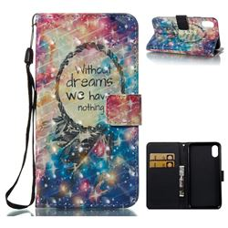 Do Have Dreams 3D Painted Leather Wallet Case for iPhone XS / X / 10 (5.8 inch)