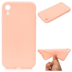 Candy Soft TPU Back Cover for iPhone Xr (6.1 inch) - Pink
