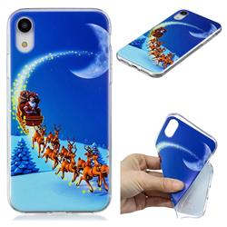 Shine Deer Xmas Super Clear Soft TPU Back Cover for iPhone Xr (6.1 inch)