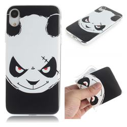 Angry Bear IMD Soft TPU Cell Phone Back Cover for iPhone Xr (6.1 inch)