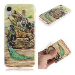 Beast Zoo IMD Soft TPU Cell Phone Back Cover for iPhone Xr (6.1 inch)