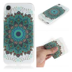 Peacock Mandala IMD Soft TPU Cell Phone Back Cover for iPhone Xr (6.1 inch)