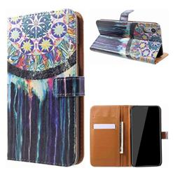 Dream Catcher Leather Wallet Case for iPhone Xr (6.1 inch)