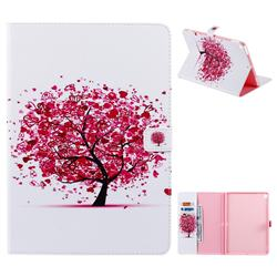 Colored Tree Folio Flip Stand Leather Wallet Case for Apple iPad 10.2 (2019)