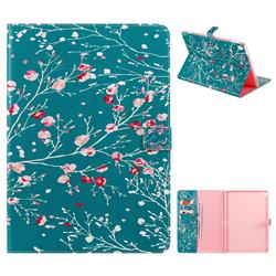 Apricot Tree Folio Flip Stand Leather Wallet Case for Apple iPad 10.2 (2019)