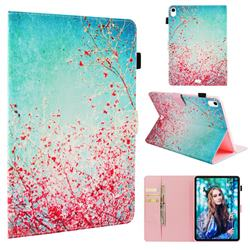 Cherry Blossoms Folio Stand Leather Wallet Case for Apple iPad Pro 11