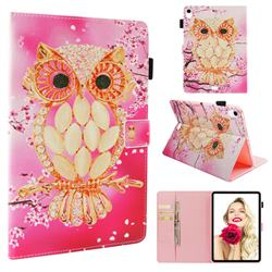 Petal Owl Folio Stand Leather Wallet Case for Apple iPad Pro 11