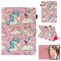 Angel Pony 3D Painted Leather Wallet Tablet Case for Apple iPad Pro 11