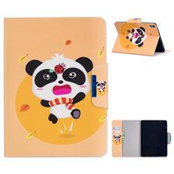 Ladybug Panda Folio Flip Stand Leather Wallet Case for Apple iPad Pro 11