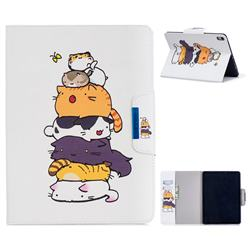 Casing kittens Folio Flip Stand Leather Wallet Case for Apple iPad Pro 11